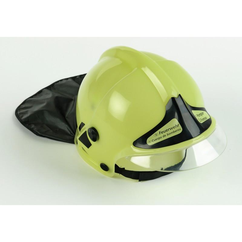 Helm Dla Dziecka Gallet Bialy Fluoresencyjny